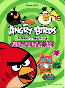 Angry Birds - Sách Phát Triển Trí Tuệ Cùng Vui Dán Hình 2