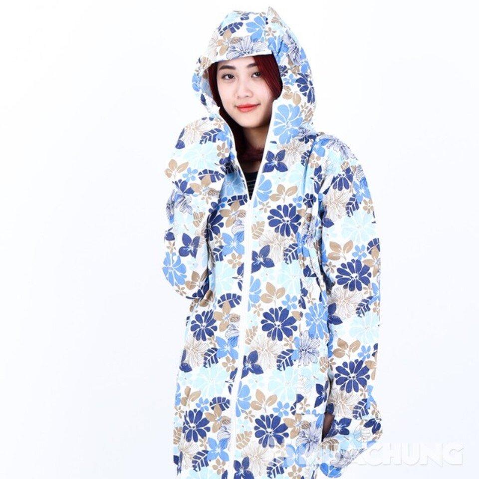 Áo chống nắng toàn thân vải thô