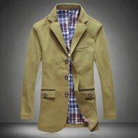 Áo khoác kaki nam Jacket viền túi MS0029AK