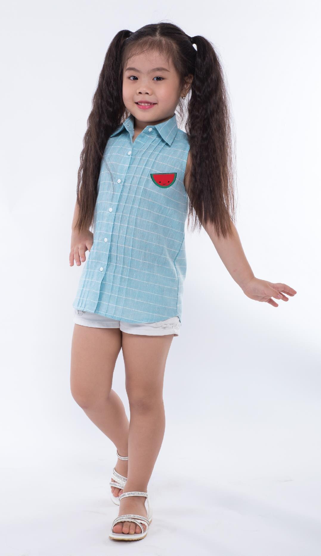 Áo kiểu bé gái Ugether UKID164
