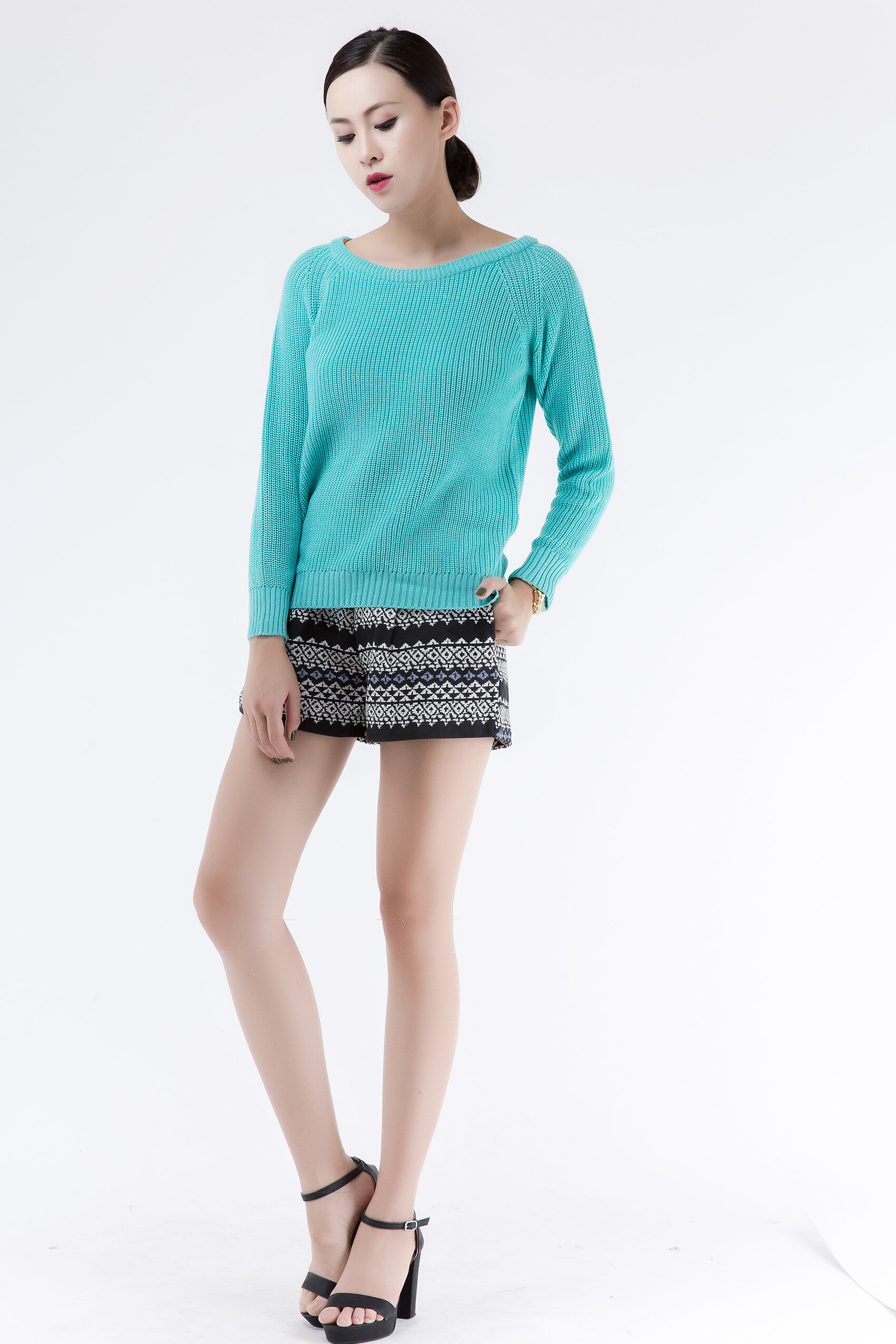 Áo len nữ 6ZAL017