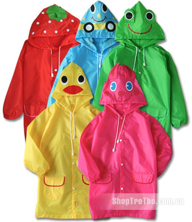 Áo mưa trẻ em Linda xuất Nhật (Funny Rain Coat)