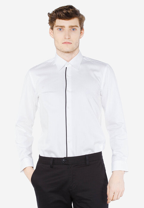Áo sơ mi trắng Slim Fit Gio Bernini MS062