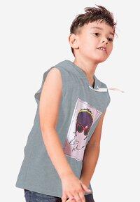 Áo thun bé trai có nón Ugether UN10