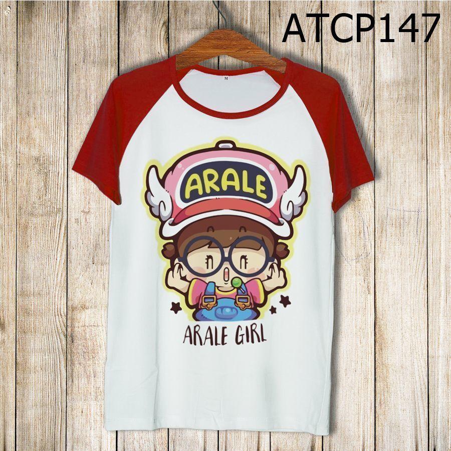 Áo thun tay màu Cô bé Arale ATCP147