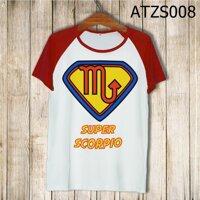 Áo thun tay màu Cung thần nông Superman ATZS008