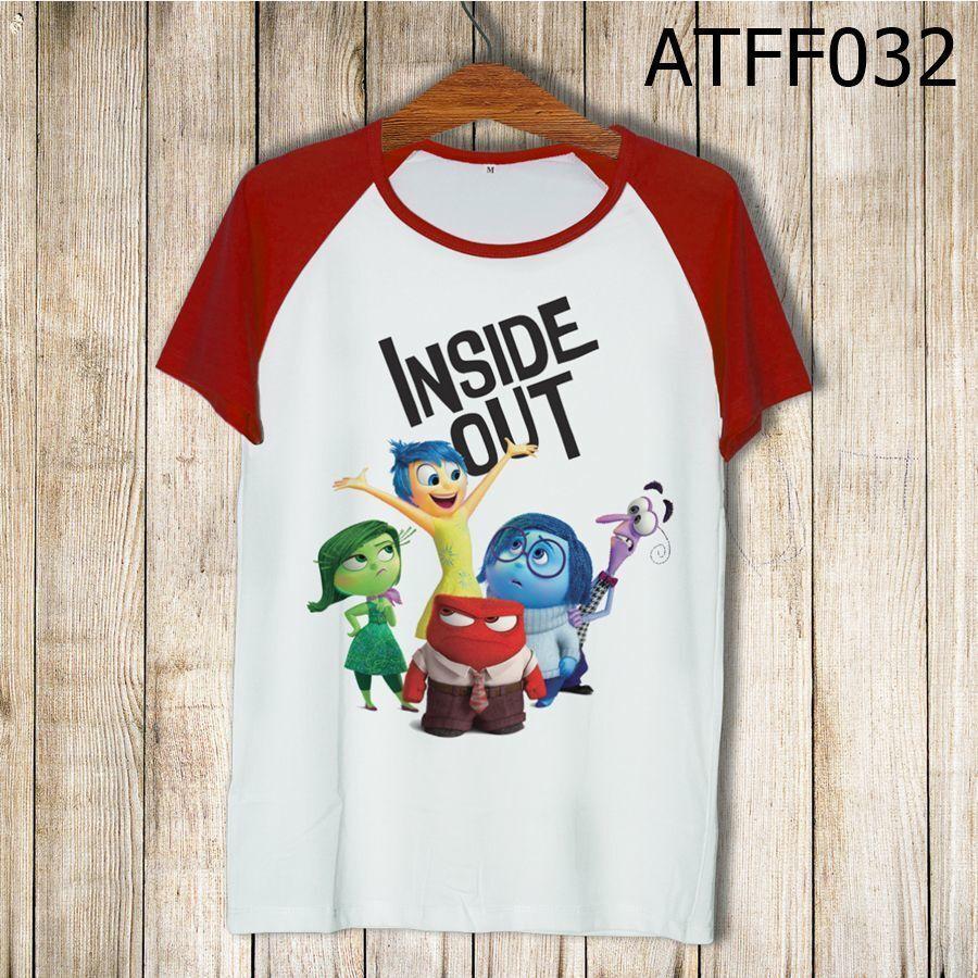 Áo thun tay màu Inside Out ATFF032