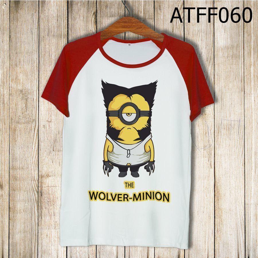 Áo thun tay màu Người sói Minion ATFF060