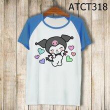 Áo thun tay màu Yêu tinh I'm so cute ATCT318