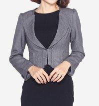 Áo vest dáng lửng tay dài The One Fashion ADH03NA