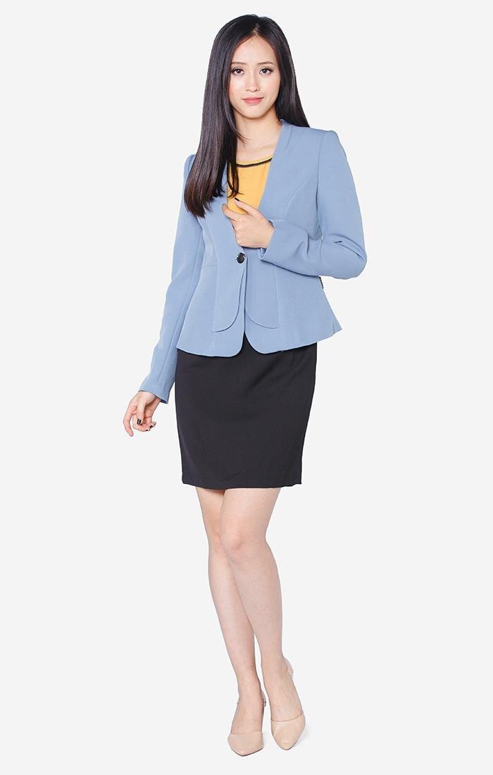 Áo vest nữ The One Fashion AVD0165XAN