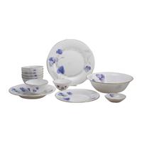 Bộ 12 món đồ dùng bàn ăn thủy tinh ngọc Vitriares 808-12T
