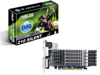 Card đồ họa (VGA Card) Asus EN210 SILENT/DI/1GD3 - NVIDIA GeForce 210, 1GB, DDR3, 64 bit, PCI Express 2.0