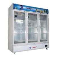 Tủ mát Sanaky VH1500HP (VH 1500HP) - 1500 lít, 3 cửa