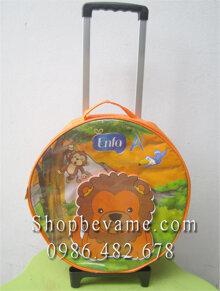 Ba lô cần kéo Enfa sư tử mẫu tròn