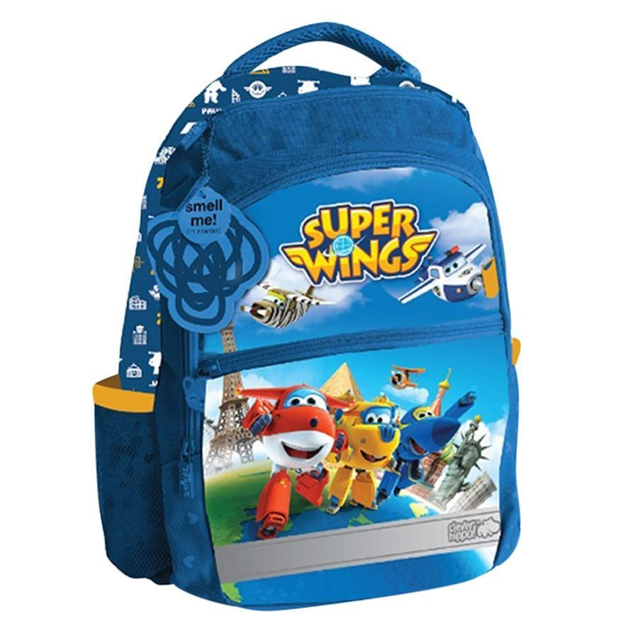 Ba lô học sinh Clever Hippo ActiveX Superwings Global Delivery BA0201