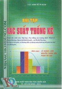 Bài tập xác suất thống kê