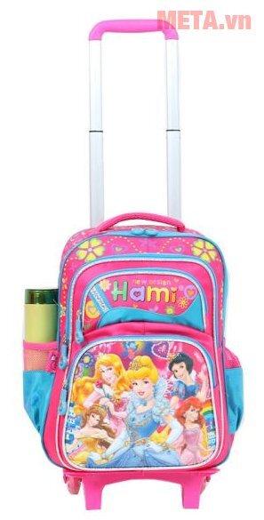 Balo cấp 1 Hami BL210W - có cần kéo, 5 công chúa