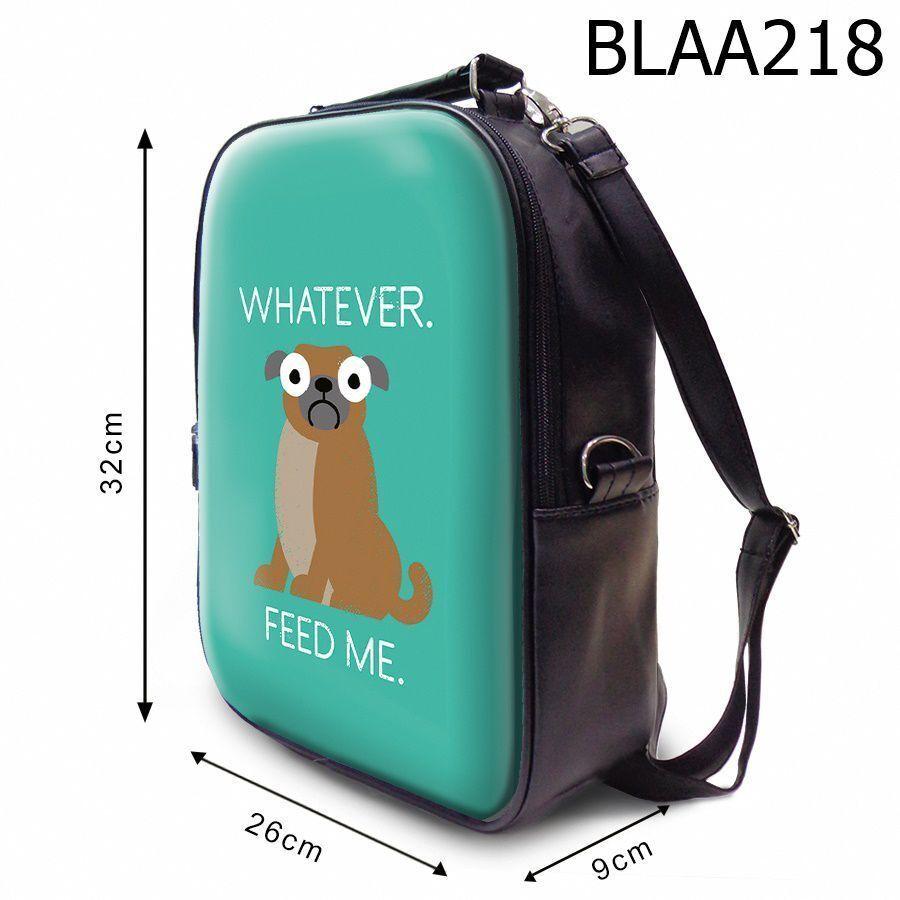 Balo Chó Mặt Ngơ Đòi Ăn BLAA218 size nhỏ