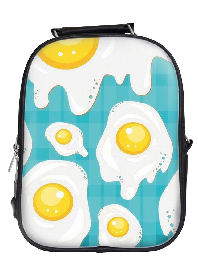 Balo in hình những miếng trứng ốp la BLFO022