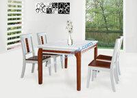 Bàn ăn cơm bằng gỗ 4 ghế ngồi Hòa Phát BA116 + 4GA116