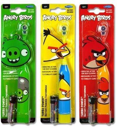 Bàn chải pin Angry Bird