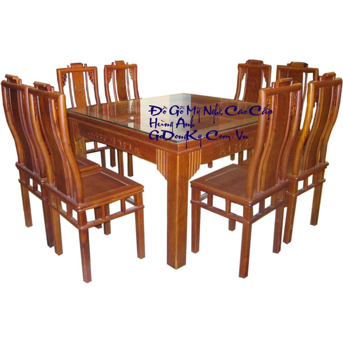 Bàn ghế ăn BA505