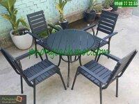 Bàn ghế cafe Hòa Phát MC102