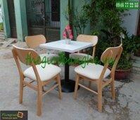 Bàn ghế gỗ cafe MC12