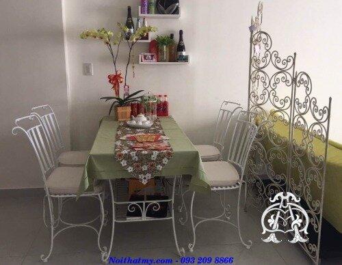 Bàn ghế phòng ăn nhẹ nhàng DA17-BG10
