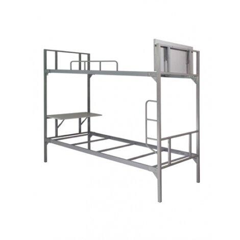 Bàn giường tầng sắt 190 - BJS 2T