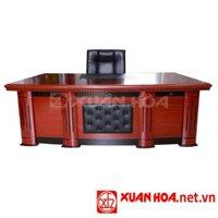 Bàn gỗ giám đốc Xuân Hòa BGD-07-00 PU
