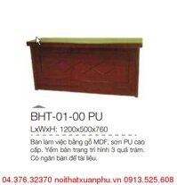 Bàn làm việc văn phòng Xuân Hòa BHT-01-00 PU