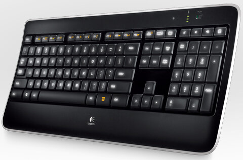 Bàn phím Logitech Wireless Illuminated K800