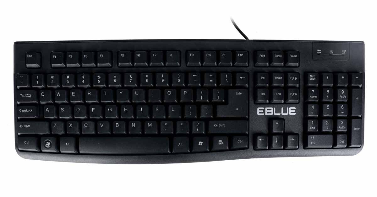 Bàn phím máy tính E-Blue EKM045