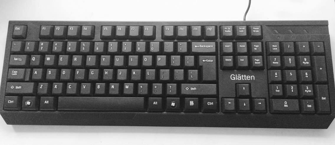 Bàn phím máy tính Glatten K83