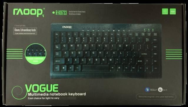 Bàn phím máy tính Raoop 8788