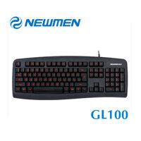 Bàn phím Newmen GL100 - Đèn LED