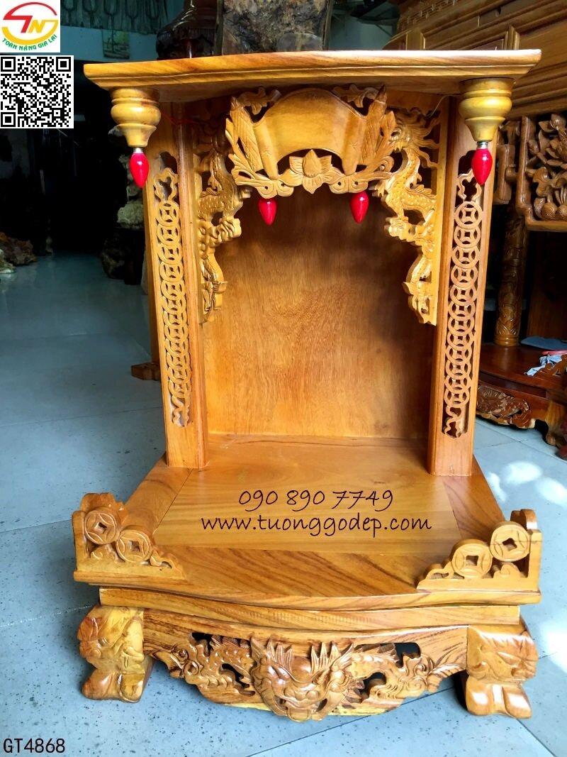 Bàn thờ ông địa thần tài gỗ (GT4868)