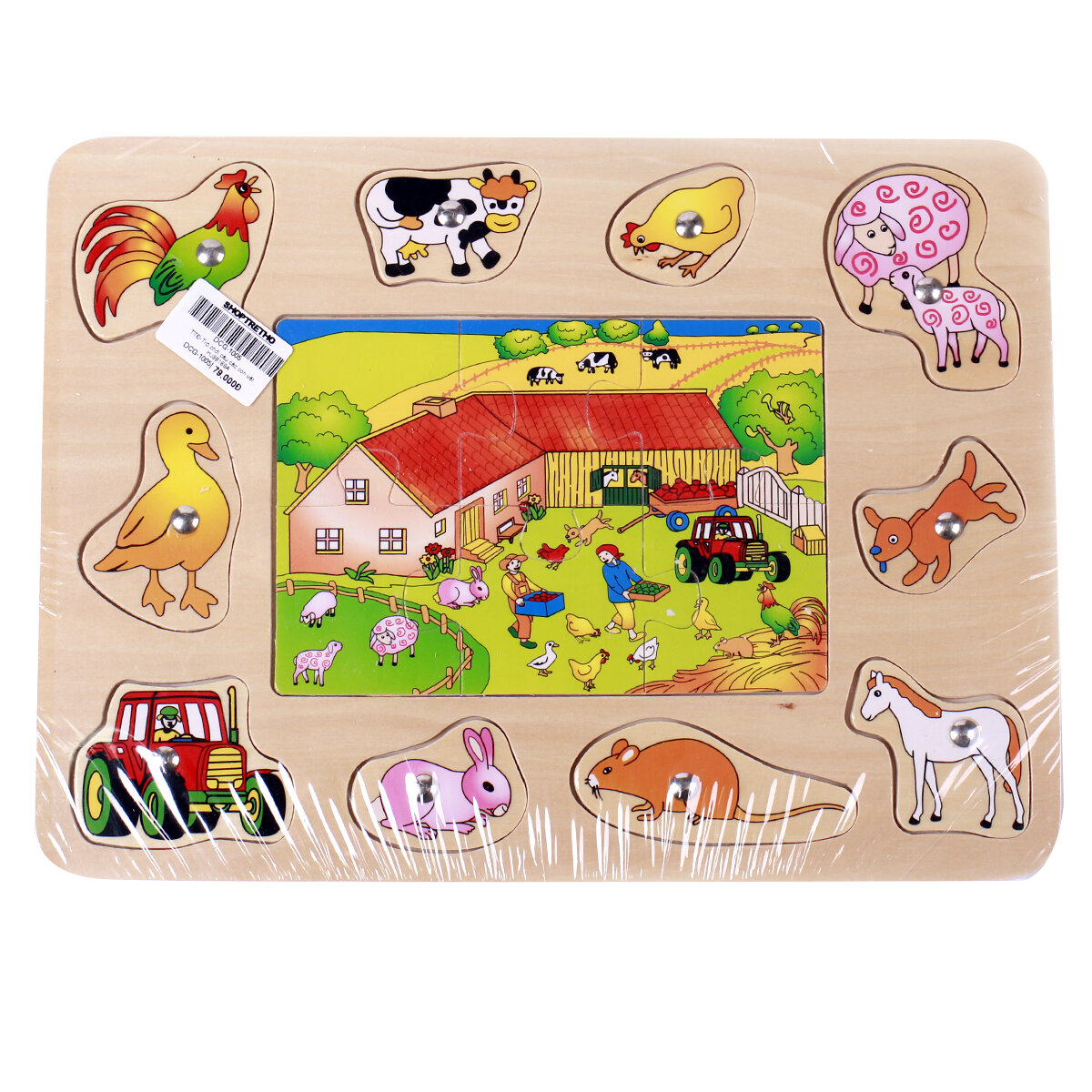Bảng câu ghép hình nông trại Toptoys 98169A