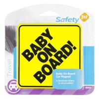 Bảng hiệu Baby on Board Safety 1st 48800