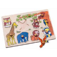 Bảng nhận hình thú rừng Toptoys 98105
