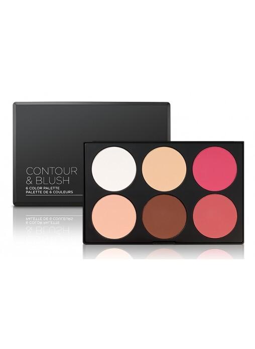 Bảng Phấn Má & Tạo khối 6 BH Cosmetic Contour & Blush Palette