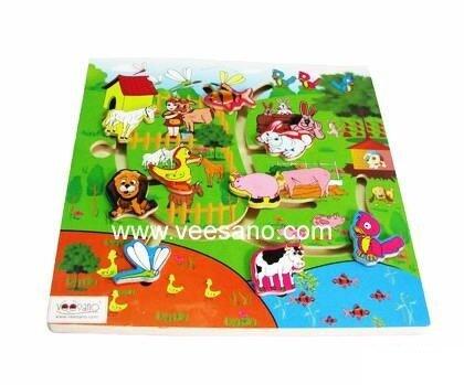 Bảng tìm đường con vật Veesano VM68