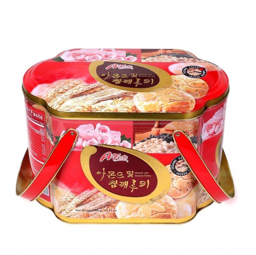 Bánh A-Taste Almond & Sesame Pastry 600g