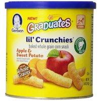 Bánh ăn dặm Gerber vị táo khoai lang 42g