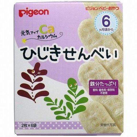 Bánh ăn dặm Pigeon 6M+ vị rong biển
