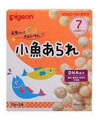 Bánh ăn dặm Pigeon vị cá cơm cho bé từ 7 tháng tuổi 13368