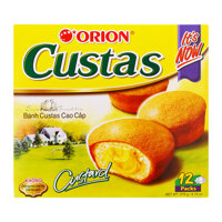Bánh Custas Cao Cấp Orion Hộp 276g (12pcs)