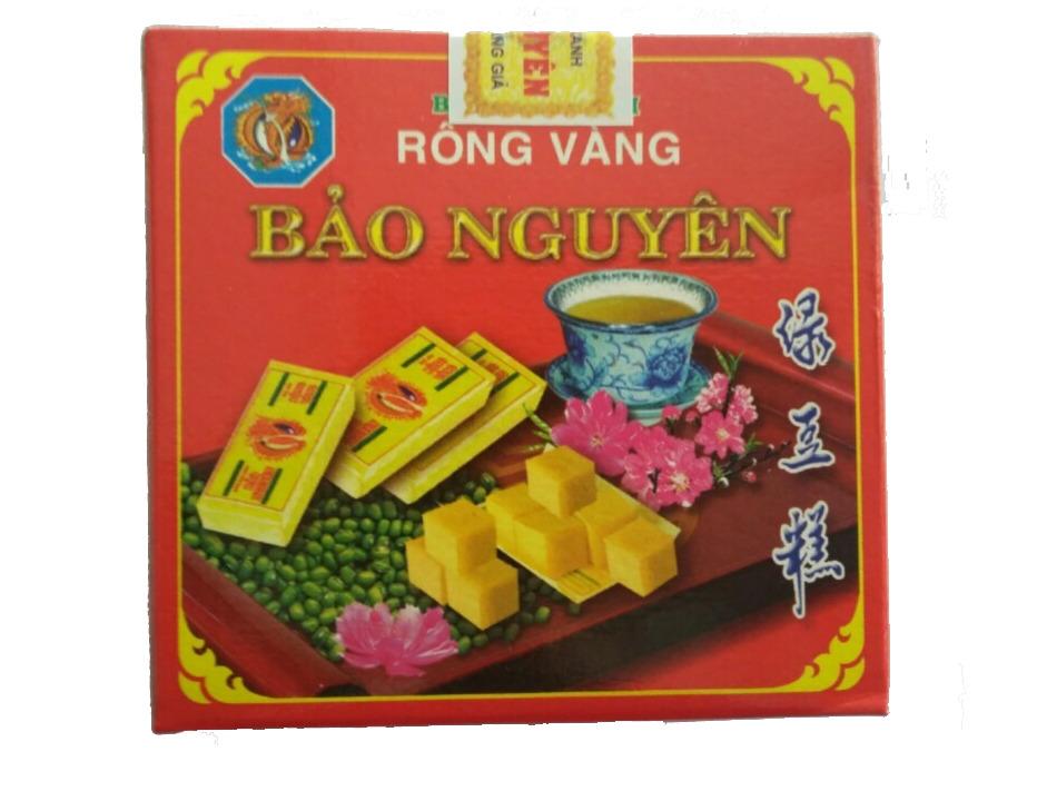 Bánh đậu xanh rồng vàng Bảo Nguyên 130gr